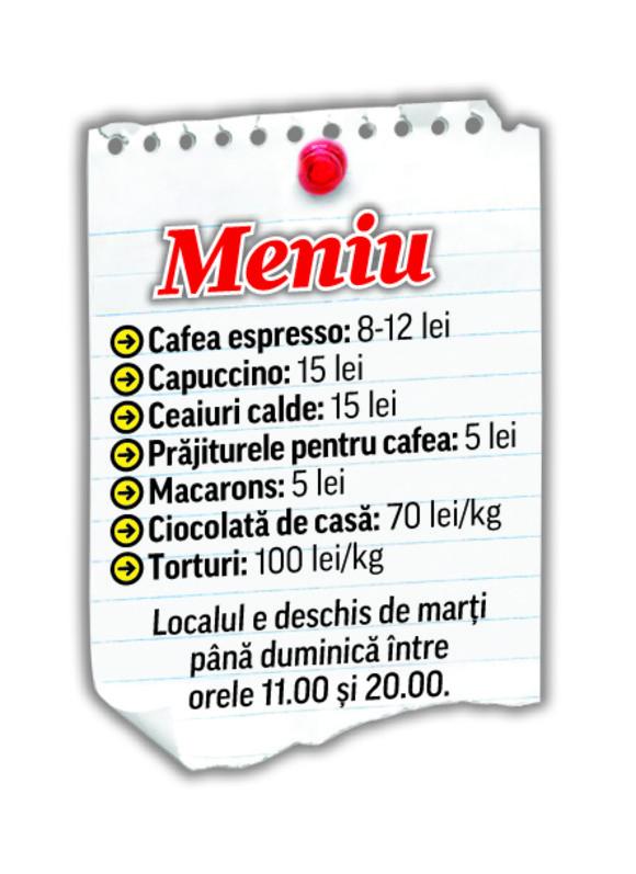 daciana menu