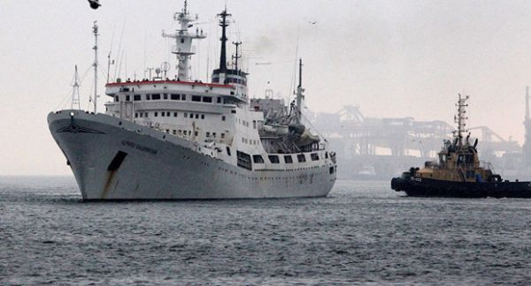 The-Russian-naval-research-vessel-Admiral-Vladimisky
