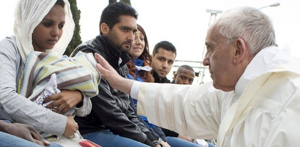 pope-francis-blesses-a-baby-during-the-foot-washing-ritual-at-the-castelnuovo-di-porto-refugees-center-near-rome-italy